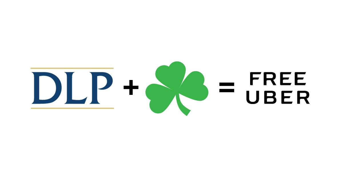 DLP offers FREE Uber rides for Scranton St  Patrick's Day